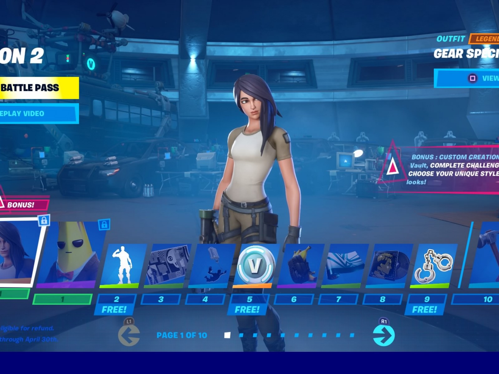 Fortnite Chapter 2 Season 2 Battle Pass Skins To Tier 100 Meowscles Midas More Fortnite chapter 2 season 1's new battle pass is a good one, in large part thanks to the big refresh epic's battle royale. fortnite chapter 2 season 2 battle