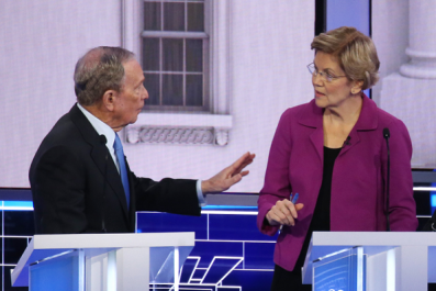 Elizabeth Warren's Takedown of Michael Bloomberg Get the 'Ether' Treatment