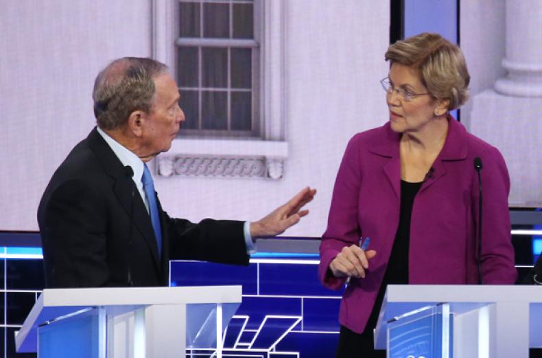 Elizabeth Warren's Takedown of Michael Bloomberg Get the 'Ether' Treatment