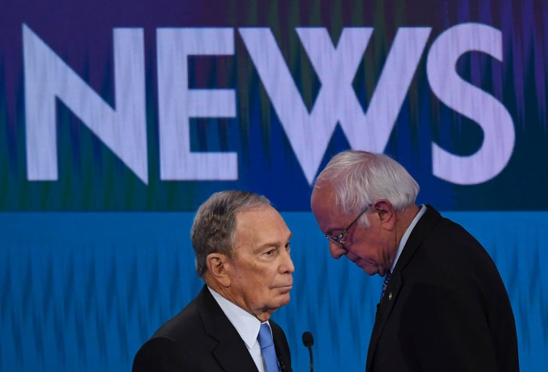 Bloomberg and Sanders