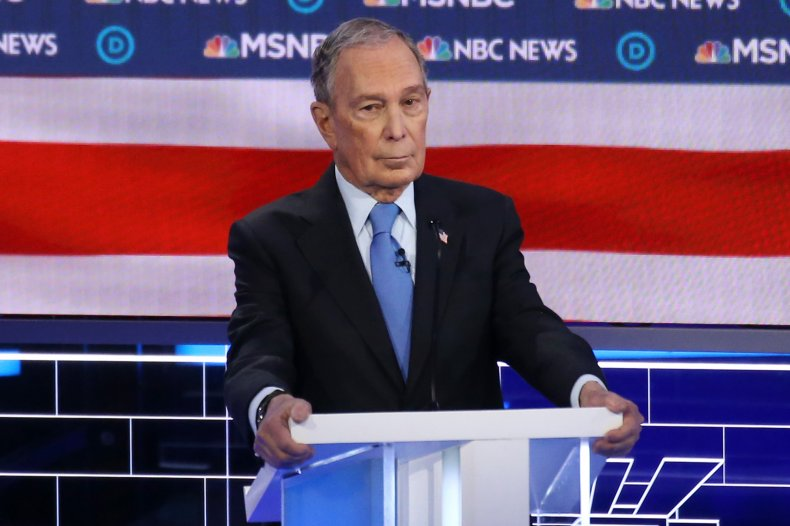 Mike Bloomberg 2020 campaign finance FEC spending