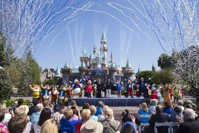 Disneyland Anaheim California Sleeping Beauty Castle 2015