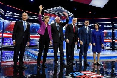 Nevada caucuses test democratic candidates minorities