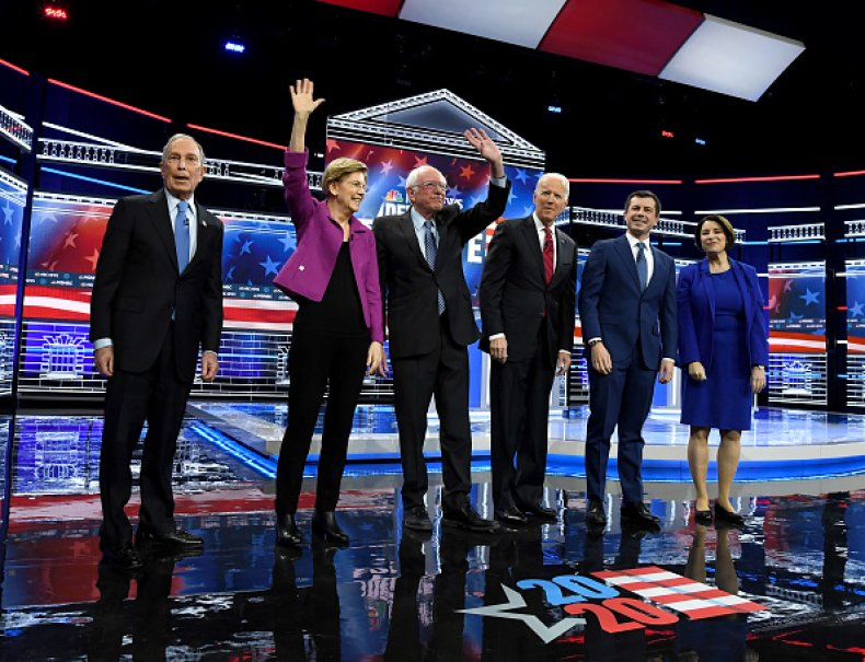 democratic debate nevada february 2020
