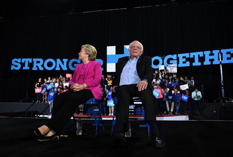 bernie sanders democratic party clinton