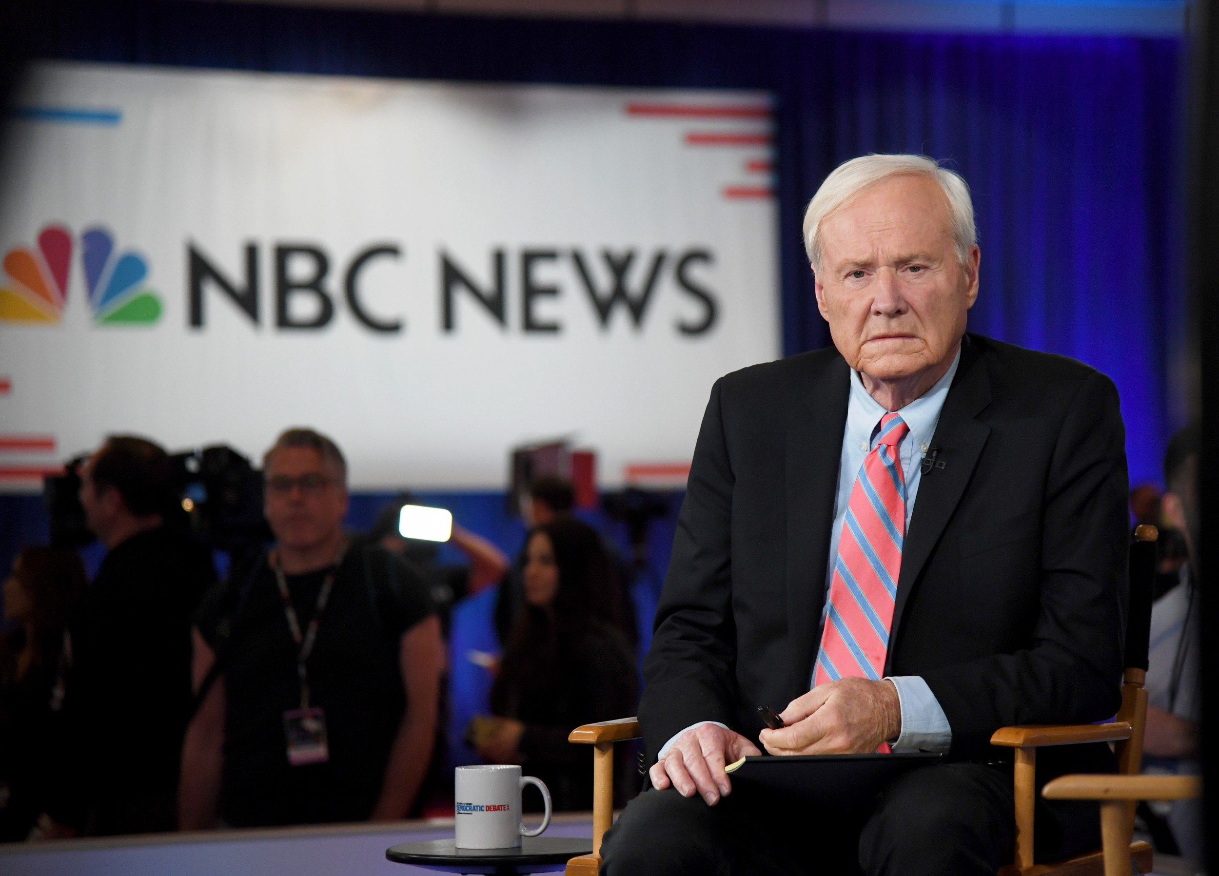 MSNBC's Chris Matthews faces calls to resign after comparing Sanders' Nevada victory to Nazi Germany's defeat of France