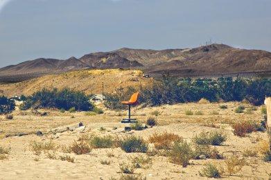 California desert stock