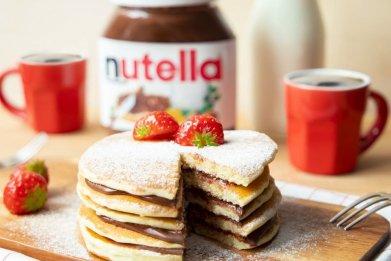Nutella Pancake Stack Pop up