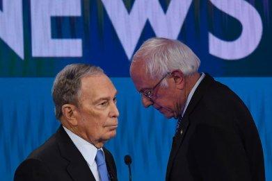 Bloomberg Sanders