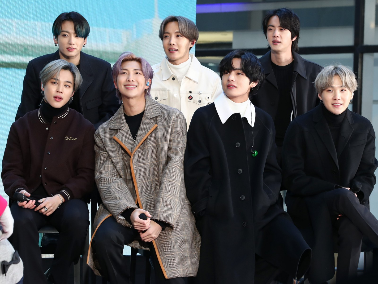 bts rockefeller plaza february 21 2020 new york city