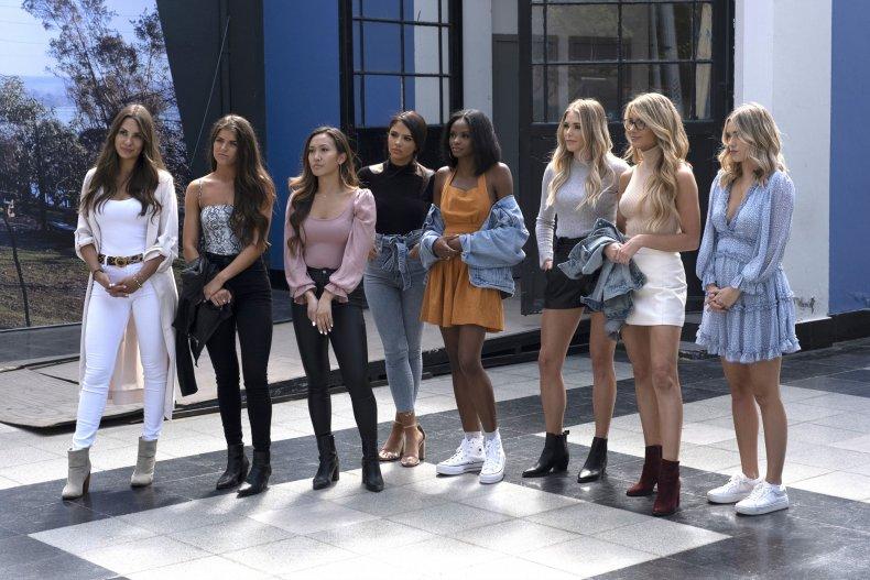 Weber's Bachelor cast