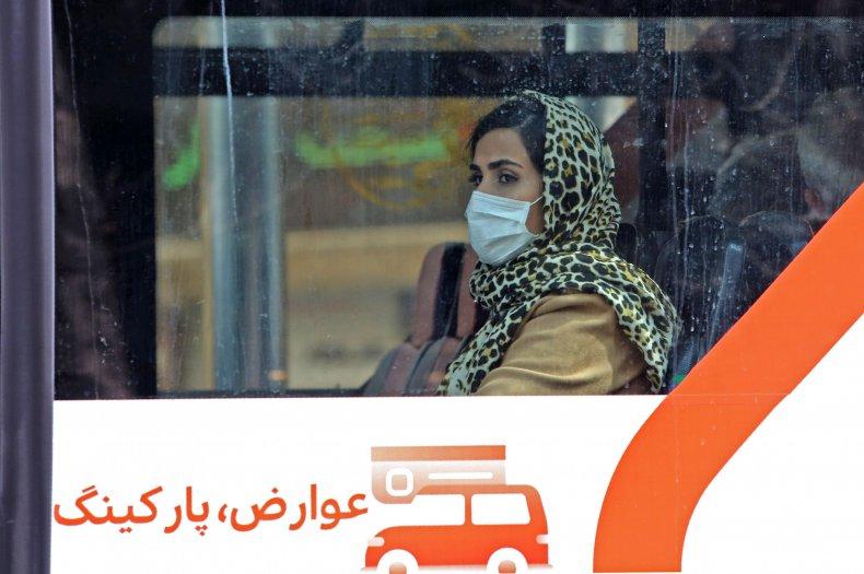 iran, mask, coronavirus, covid-19, tehran