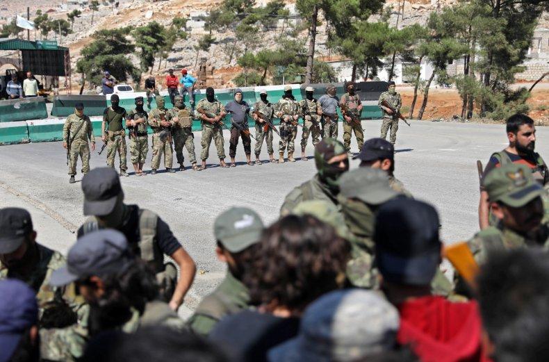 hayat, tahrir, al-sham, nusra, protest, syria, idlib