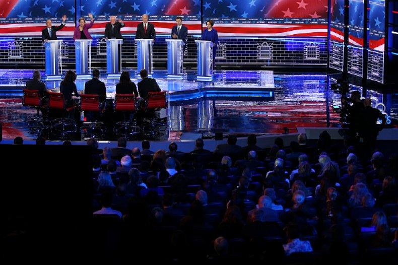democrats face off nevada debate