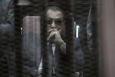 mubarak-cage
