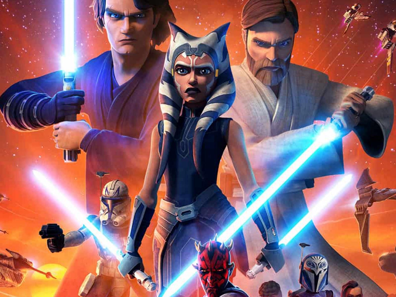 Star Wars The Clone Wars Season 7 Disney Plus Release Date When