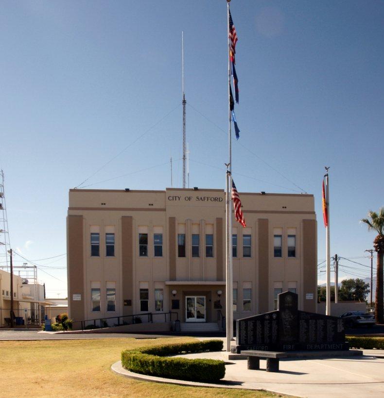 Safford City building