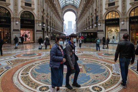 Galleria Vittorio Emanuele II, Milan February 2020