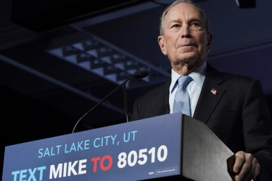 Presidential Candidate Mike Bloomberg Holds Campaign Rally In Salt Lake City