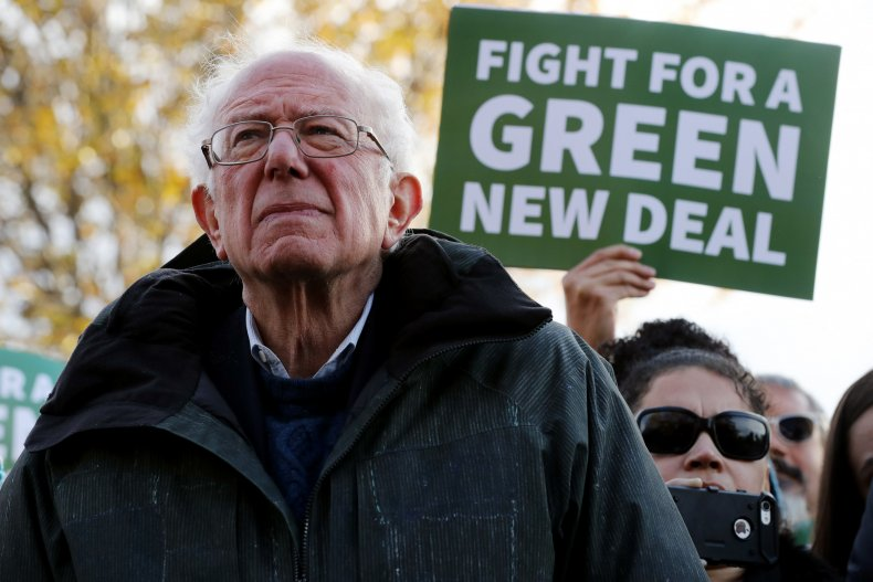 Bernie Sanders Green New Deal