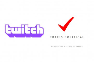 twitch ban praxis poltical legal