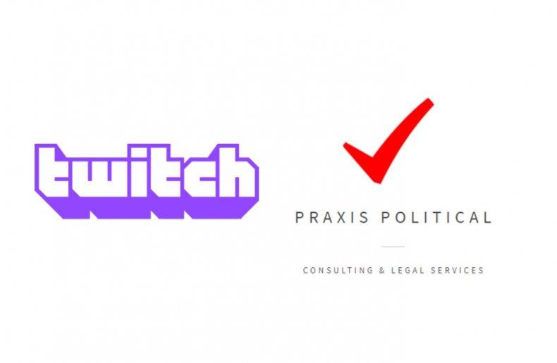 twitch ban praxis poltical legal