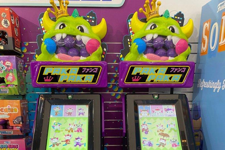 Funko Toy Fair 2020 Paka Paka Gashapon