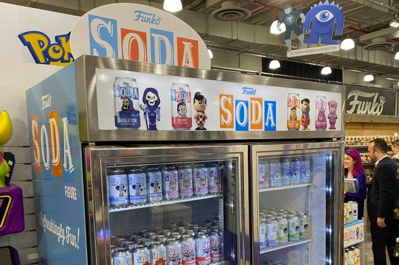 Funko Toy Fair 2020 Soda Display Products