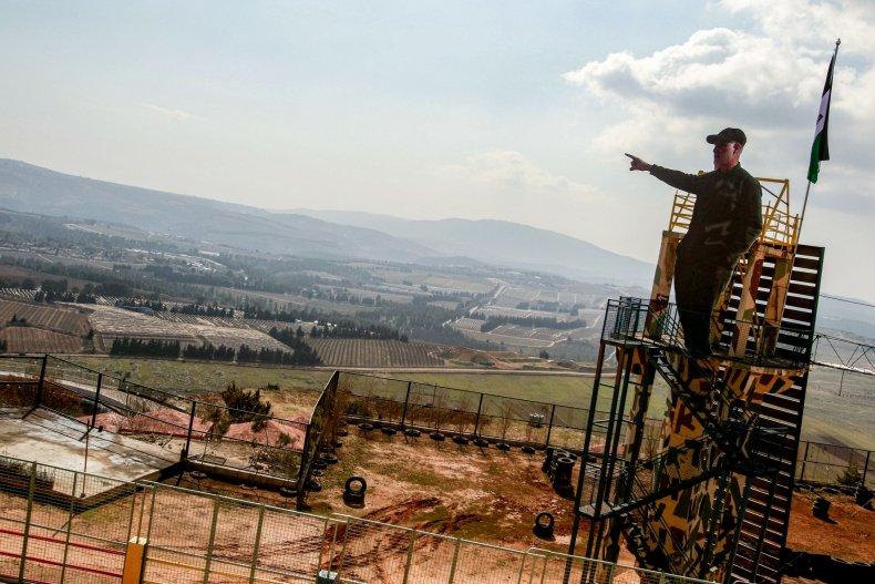 israel, iran, lebanon, border, qassem, soleimani