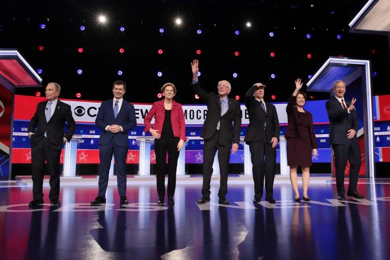 Democratic Debate South Carolina 2020 Election