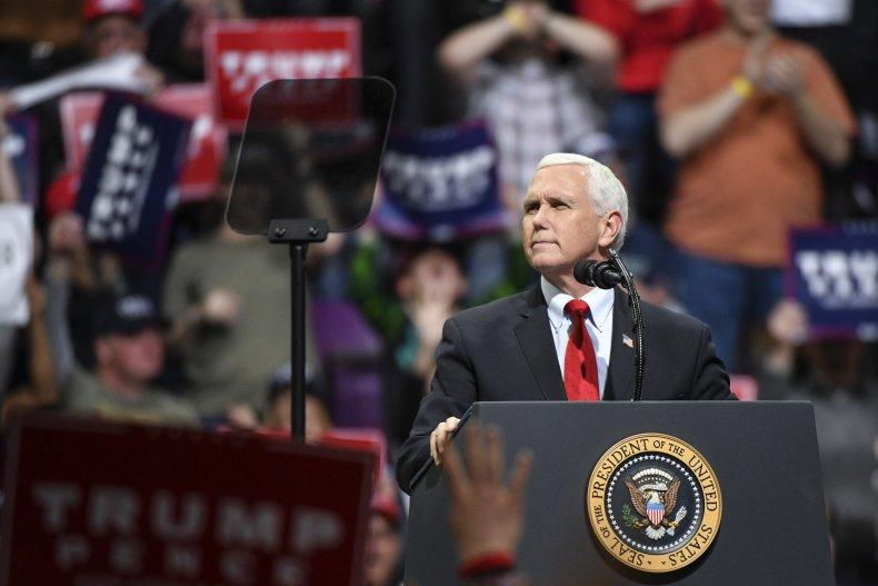 Mike Pence Colorado Rally