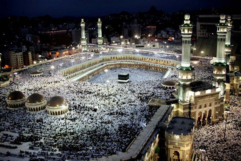 The Great Mosque, Mecca, Saudi Arabia 2005