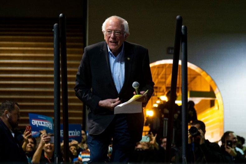 Bernie Sanders in Virginia