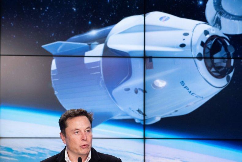 SpaceX chief Elon Musk
