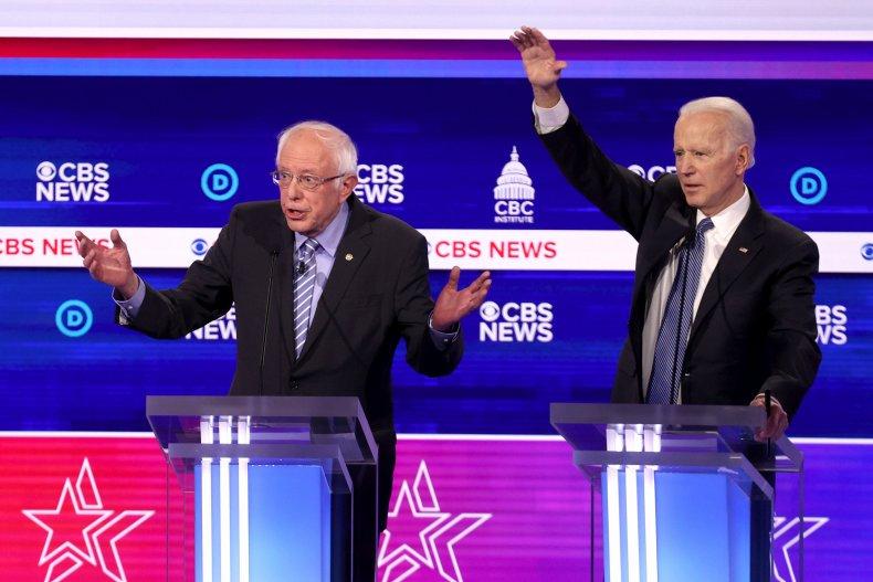 Bernie Sanders, Joe Biden, 2020, black, voters