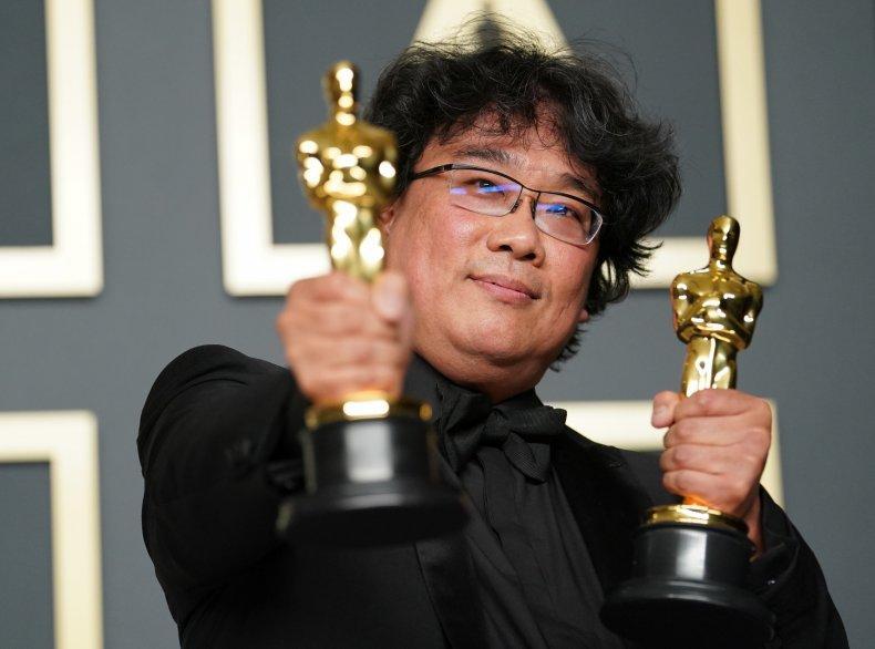 Bong Joon Ho 2020 Academy Awards Oscars