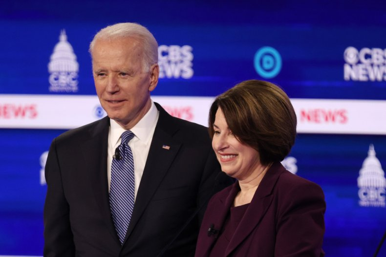 Biden and Klobuchar
