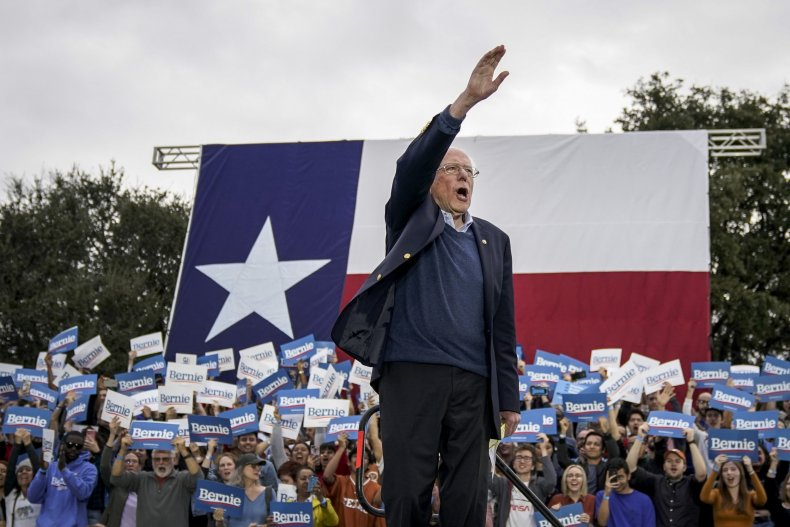 bernie sanders texas rally