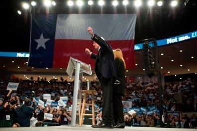Bernie Sanders in Texas