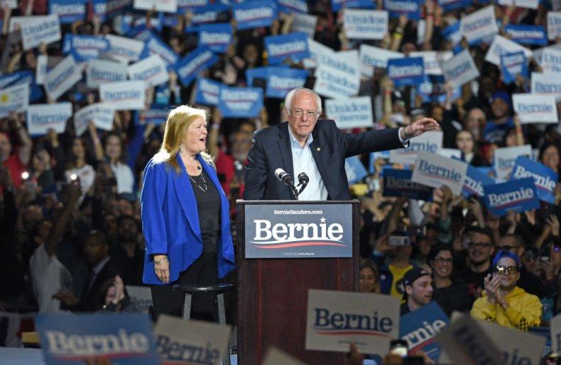 Bernie Sanders at Los Angeles, California Rally