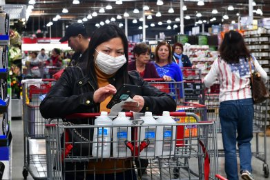 Costco, California, coronavirus, February 4, 2020