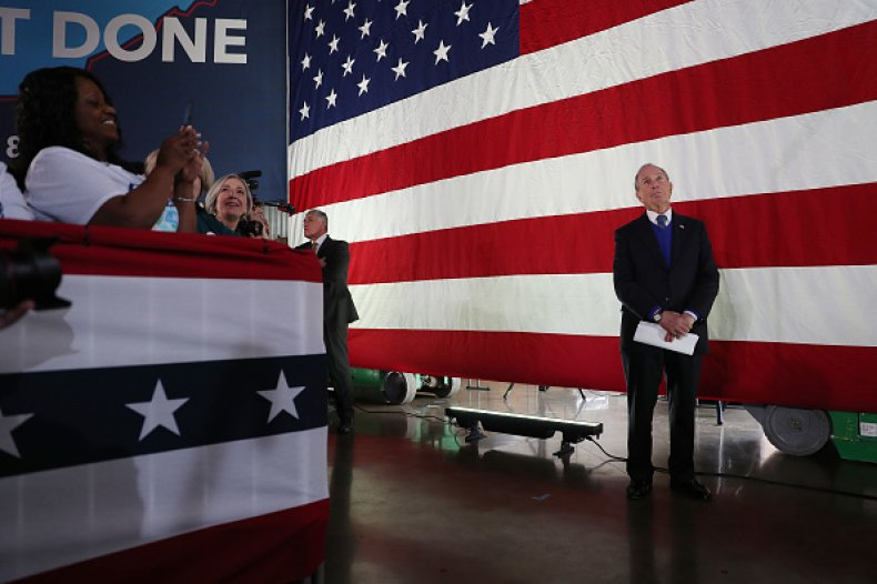 bloomberg campaigns ahead of Super Tuesday TN
