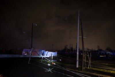 Tornado damaged service lines