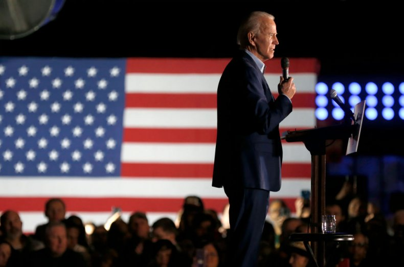 Joe Biden in Dallas, Texas