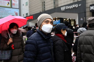 Coronavirus South Korea February 2020