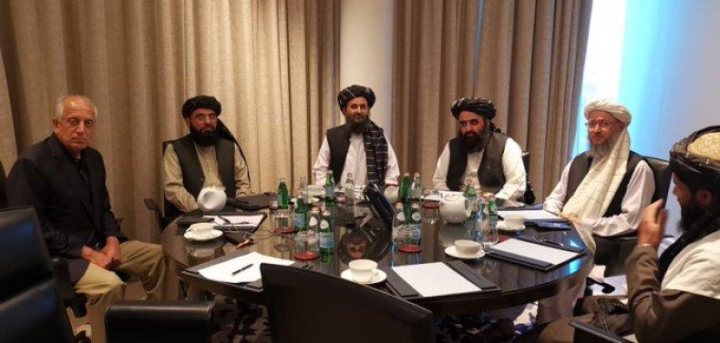 taliban, officials, donald, trump, phone, conversation