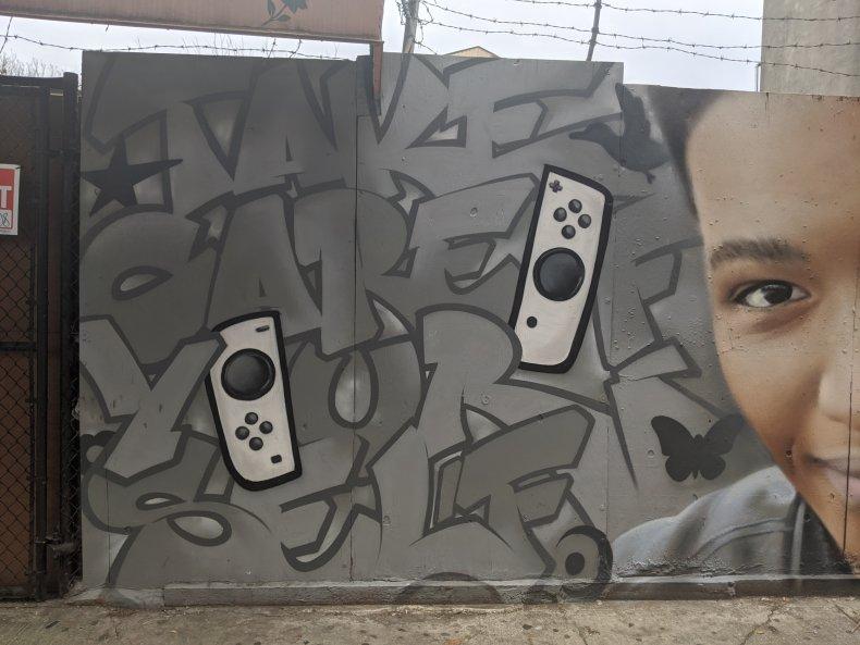 etika desmond amofah youtube mural pokestop