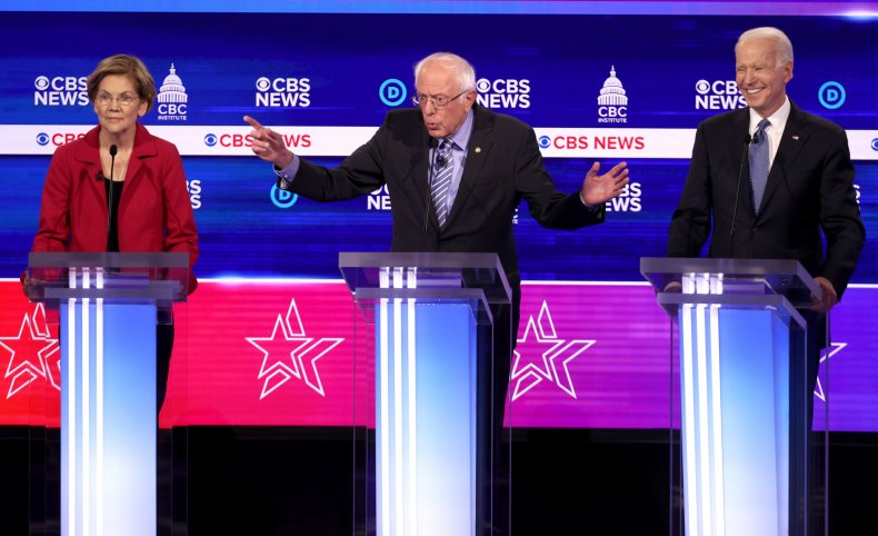 Democratic presidential candidates in South Carolina