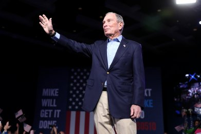 Mike Bloomberg, Joe Biden, Super Tuesday, 2020