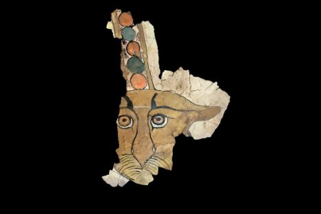 Leopard fragment from Egyptian tomb